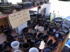 陶器市B級品販売中